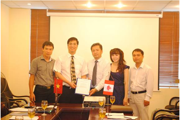 Signing Ceremony between G-BI International, Việt Nam and 17th Ave Travel Express Inc, Canada